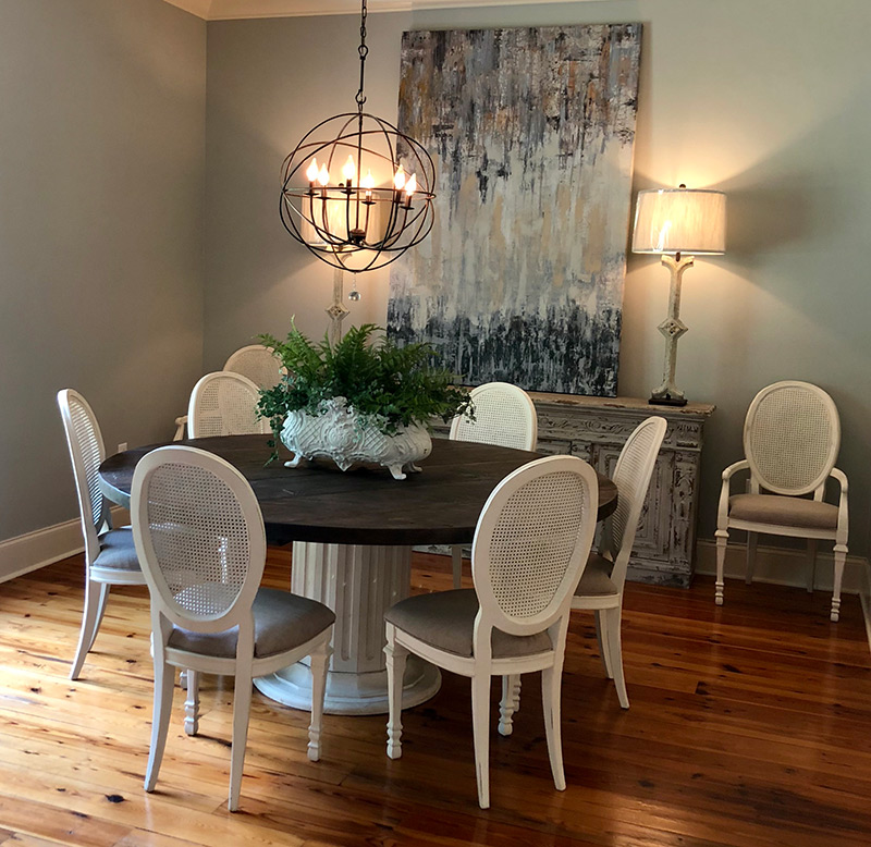 Home Staging: Wright's Mill Home